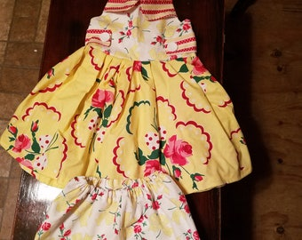 New Girl's Sundress with Bloomers