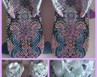 crochet flip flops, crochet flip flops