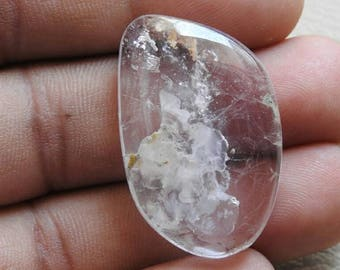REAL KUNZITE One Piece Smooth Fancy Shape Cabochon Good Quality 100% Natural Wholesale Price New Arrival