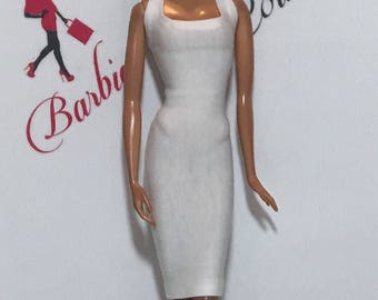 Barbie Sleeveless Square Neck Dress Many Colors Available