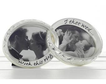 This Ring I Thee Wed ' Wedding Gift Photo Frame 60200 best for her him home decoration engagement bride groom party function ideal remebranc