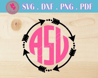 monogram svg,monogram frame svg,monogram svg,svg,dxf,png,pdf,monogram svg file,monogram dxf,monogram cut file,arrow monogram svg,arrow svg