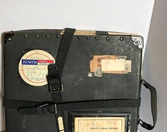 Vintage Film Reel Shipping Case