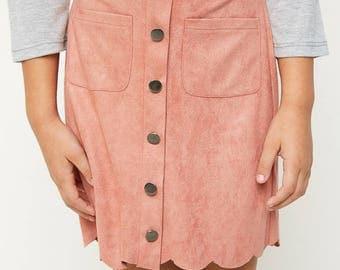 pink skirt, girls