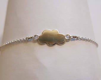 bracelet for dreamy silver on a cloud