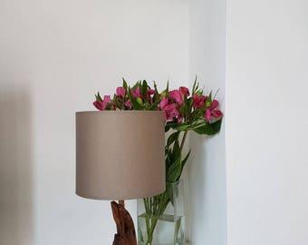 Lamp homemade  natural wood