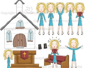 Haley Goes to Church