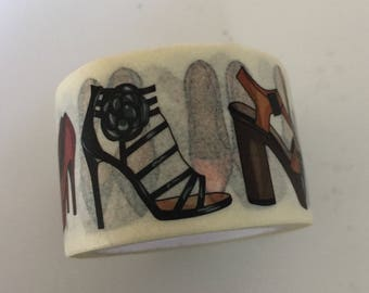 Wide Love of Shoes Washi