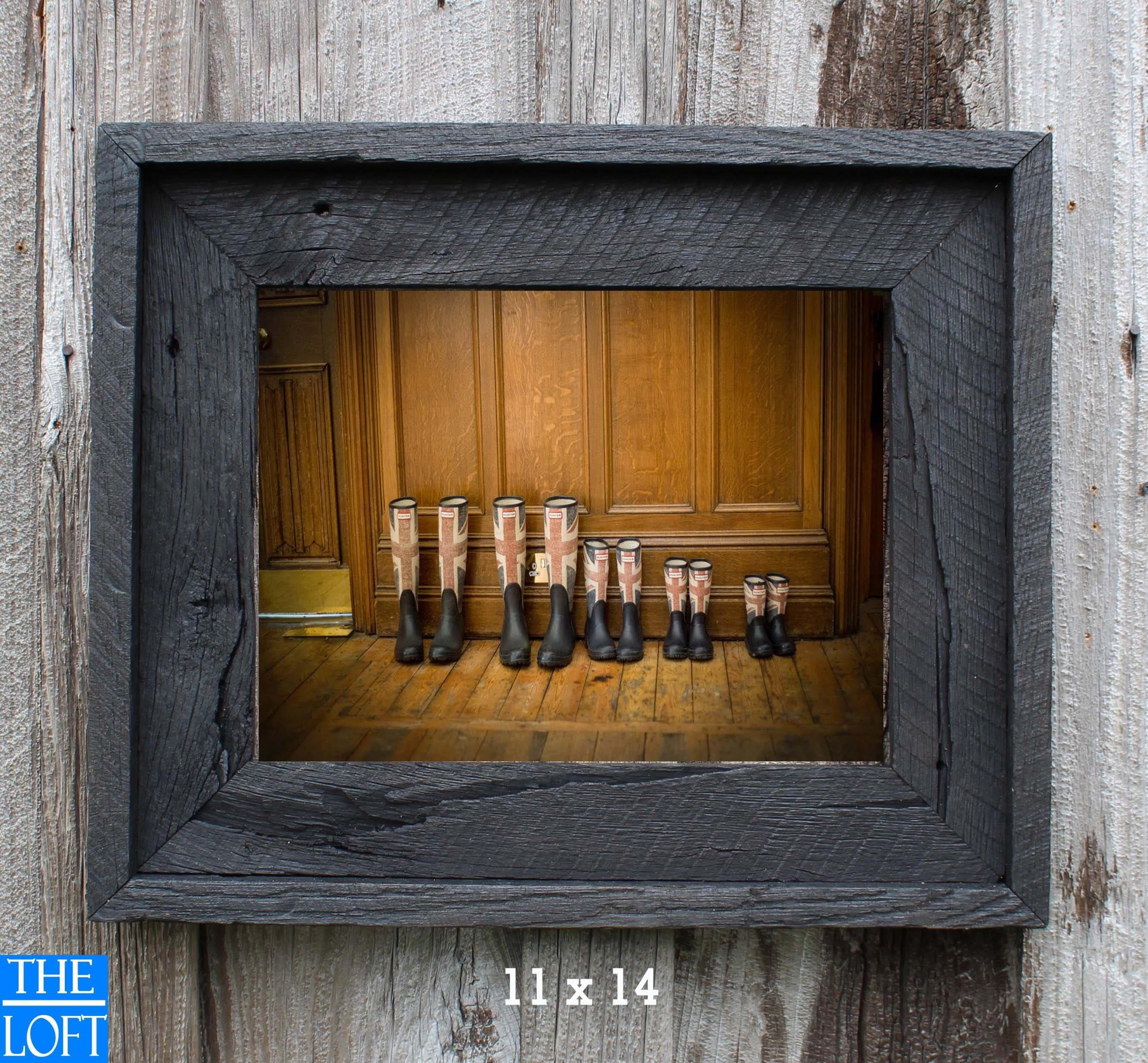 rustic black wood frame. antique blackall sizes authentic rustic barn wood 375 black frame e