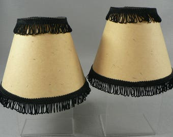 Lamp Shades Set of 2 Clip On     02210g1541a