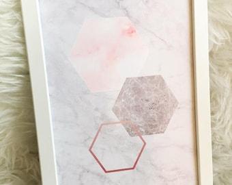 Marble Hexagon