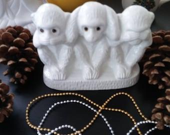 Three Wise Monkeys (See no Evil, Hear no Evil, Speak no Evil)