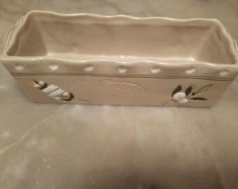Ceramic cake Pan
