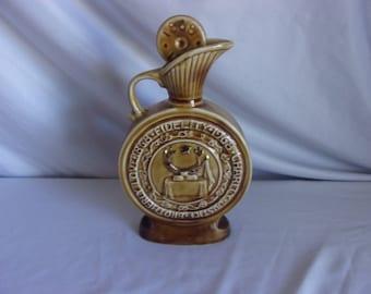 Jim Beam Centennial Order of the Elks Collectors Bottle 1968