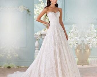 Sweet Heart A-Line Wedding Dress