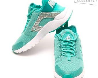 Nike Huarache Run Swarovski Turquoise-white
