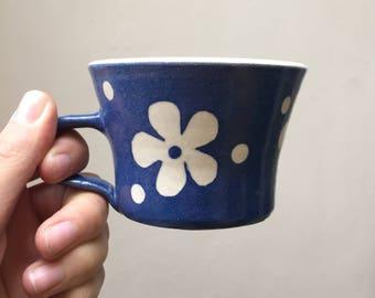 Flower Espresso Mug