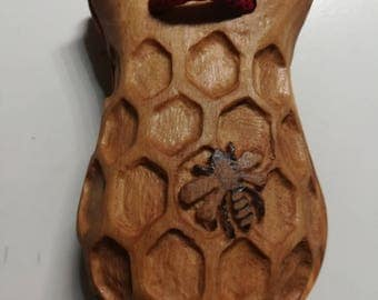 Castanets carved customizable