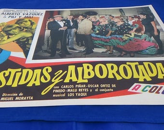 Vintage Mexican Movie Posters Comedy/Romance
