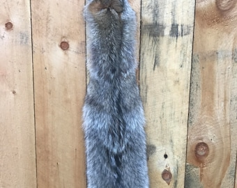 "66"" huge adirondack coywolf coyote tanned fur pelt"