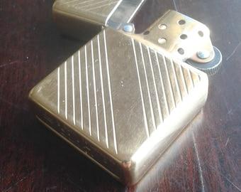 Zippo Lighter gold tone