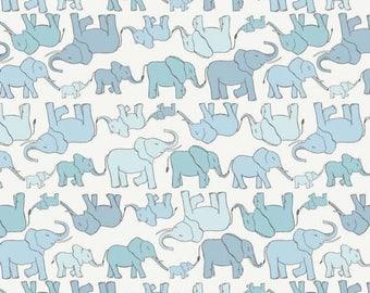 Baby Elephants Fabric by Lewis & Irene