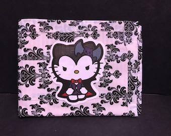 Hello Kitty Vampire Goth Horror DuctTape Wallet