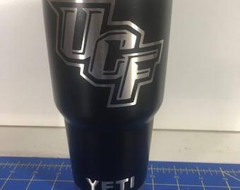University of Central Florida Custom Powder Coated Yeti 30oz