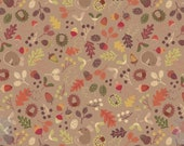 Woodland Mouse, Brown, A248-2  from the Autumn in Bluebell collection designed by Lewis & Irene LTD.