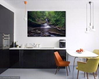 Nature Photography, Forest Art, Fine Nature Print, Waterfall Print, Water Art, Forest Photography, Rickets Glenn, National Park Photography
