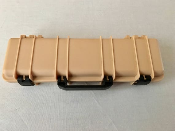 Tactical Rifle Pen Box in Desert Tan (pen not included)
