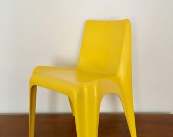 Mid-century Bofinger dining chair | Indoor and Outdoor | 1960 's | Helmut Bätzner · Rosenthal-studio-prize winner 1966