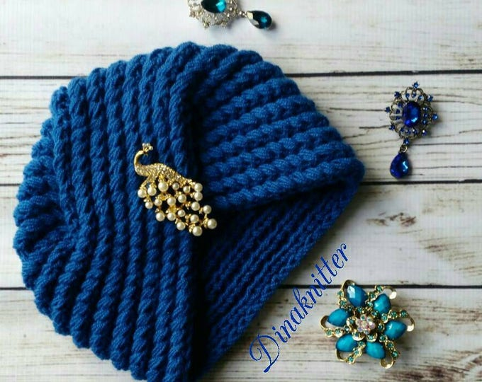 de45dd61340 Wool hat.turban hat.knitted turban.crochet turban.winter beanie.knitted
