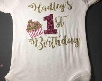 First birthday onesie / shirt