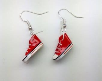 All Star slippers earrings various colors earrings Mini sneakers Earrings