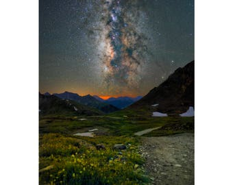 Starlit Wildflowers - Colorado landscape photography by Harry Durgin