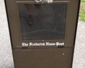 Newspaper Box - Little Sidewalk Library