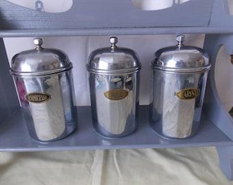 Vintage French Kitchen Storage Jars