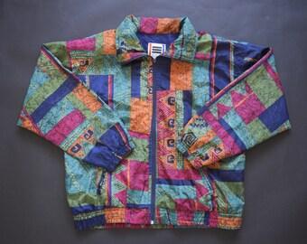 Vintage 90's Festival Patterned Jacket