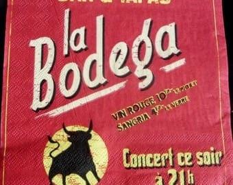 The bodega napkin