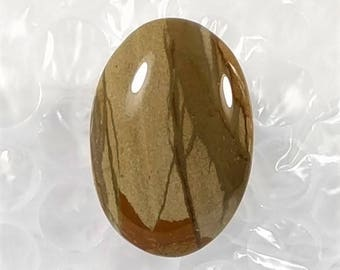 American Owyhee Jasper Picture Cabochon, Oval, 29ct (NF566)