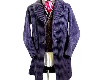 Sherlock Holmes corduroy frock coat
