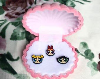 The Powerpuff Girls pin set