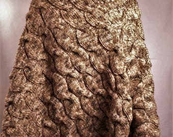 Poncho wool poncho knitted poncho made poncho, blanket poncho warm poncho winter poncho, clothing, women clothes