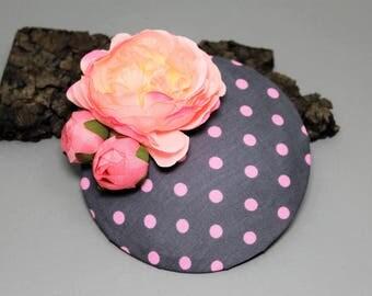 "Hat/Headpiece/fascination ""Pink lady"""