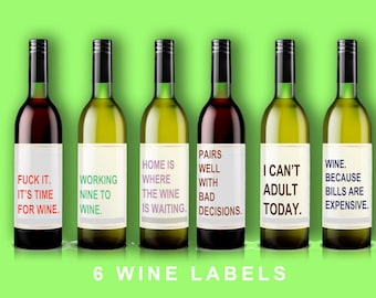 Hilarious Wine Labels You Need In Your Life | Bored Panda |Weird Wine Labels