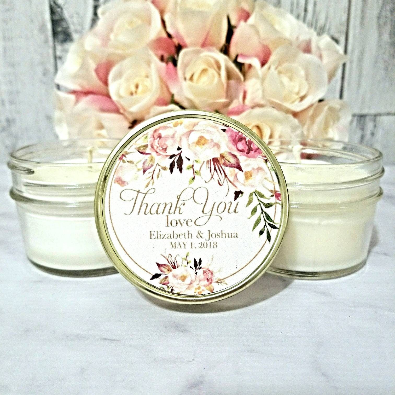 candle wedding favors - Wedding Decor Ideas