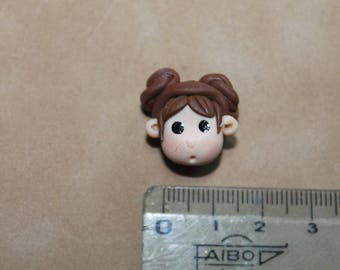 Perle Visage number 6 in Fimo