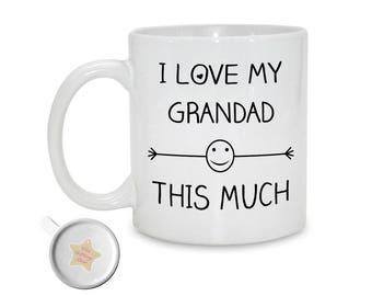 I Love My Grandad This Much | 11oz Printed Ceramic Mug