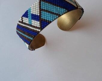 Cuff miyuki beads
